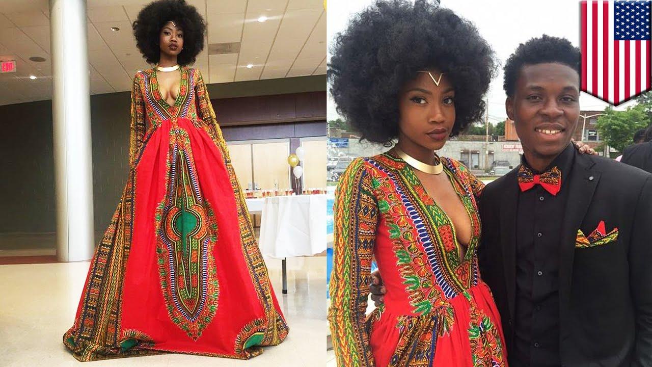 Bullied Teen Kyemah Mcentyre Designs Her Own Prom Dress