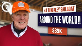 Around the world in a Hinckley Bermuda 40!! World-cruising in the ultimate bluewater sailboat! Ep 7