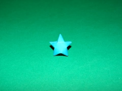 How To Make An Origami 3d Star Youtube
