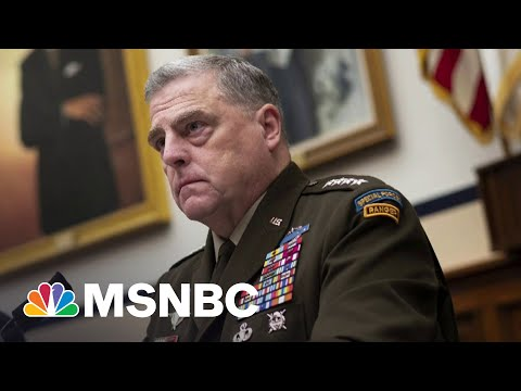 Joint Chiefs Chair Milley Schools Matt Gaetz On Critical Race Theory | 11th Hour With Brian Williams