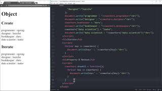 WEB2 JavaScript - 32.객체프로퍼티와 메소드