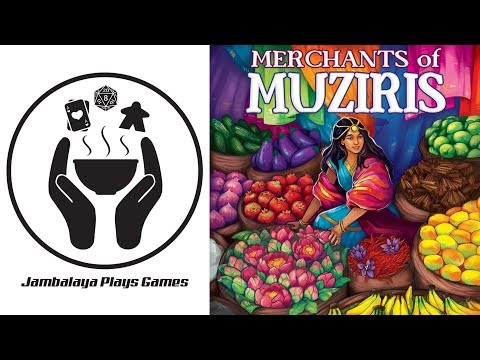 Merchants of Muziris Kickstarter Preview