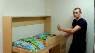 видео Кровать трансформер для детей своими руками