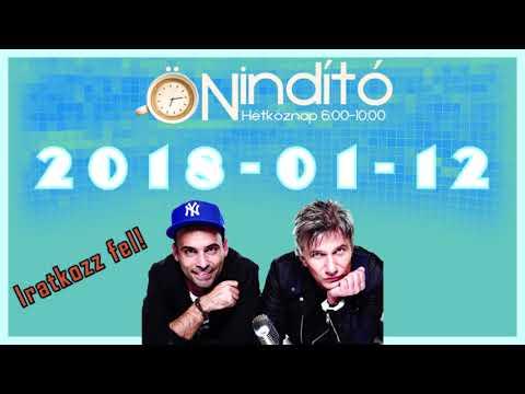 Music FM Önindító 2018 01 12 Péntek