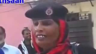Funny Pakistan lady constable interview