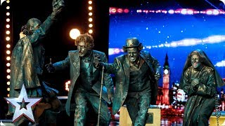 History comes to life on the BGT stage! | Auditions | BGT 2019