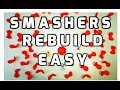 SMASHERS RE-BUILD.  EASY REBUILD 4 EVERYONE! HOW TO put ZURU SMASH-BALL back together. HACK | TRICK