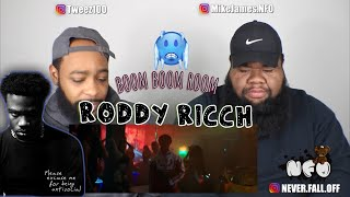 Roddy Ricch - Boom Boom Room [Official Music Video] (REACTION)