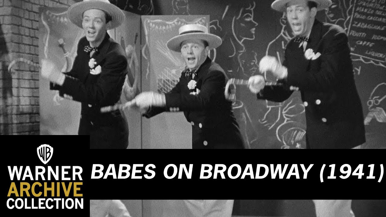 Image result for Babes on Broadway 1941 Anything Can Happen In New York