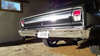 1964 Chevy Nova exhaust