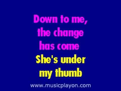 The Rolling Stones - Under My Thumb karaoke