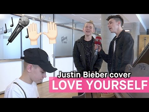 Marcus, Martinus og Mario covrer Justin Biebers «Love Yourself»