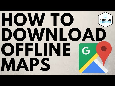 How To Download Offline Maps - Google Maps Tutorial