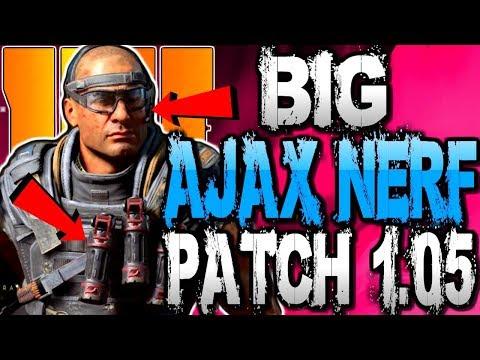Big Ajax & SG12 Nerf, Plus More... | Black Ops 4 Patch 1.05