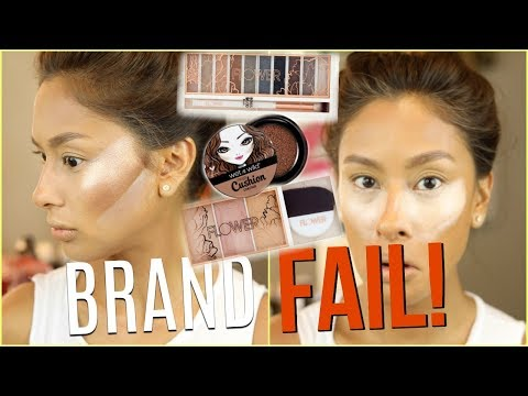 FAIL DRUGSTORE MAKEUP TESTED 😩