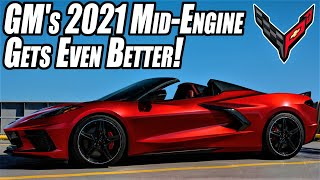 2021 C8 Corvette PRODUCTION Starts Today with New OPTIONS in play!
