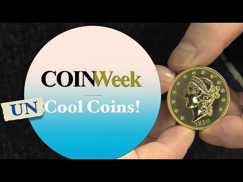 CoinWeek Uncool Coins! - The Tale of the 1850 Double Eagle - 4K Video