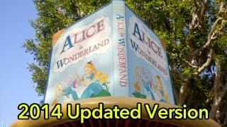 Alice in Wonderland ride (2014 updated version)