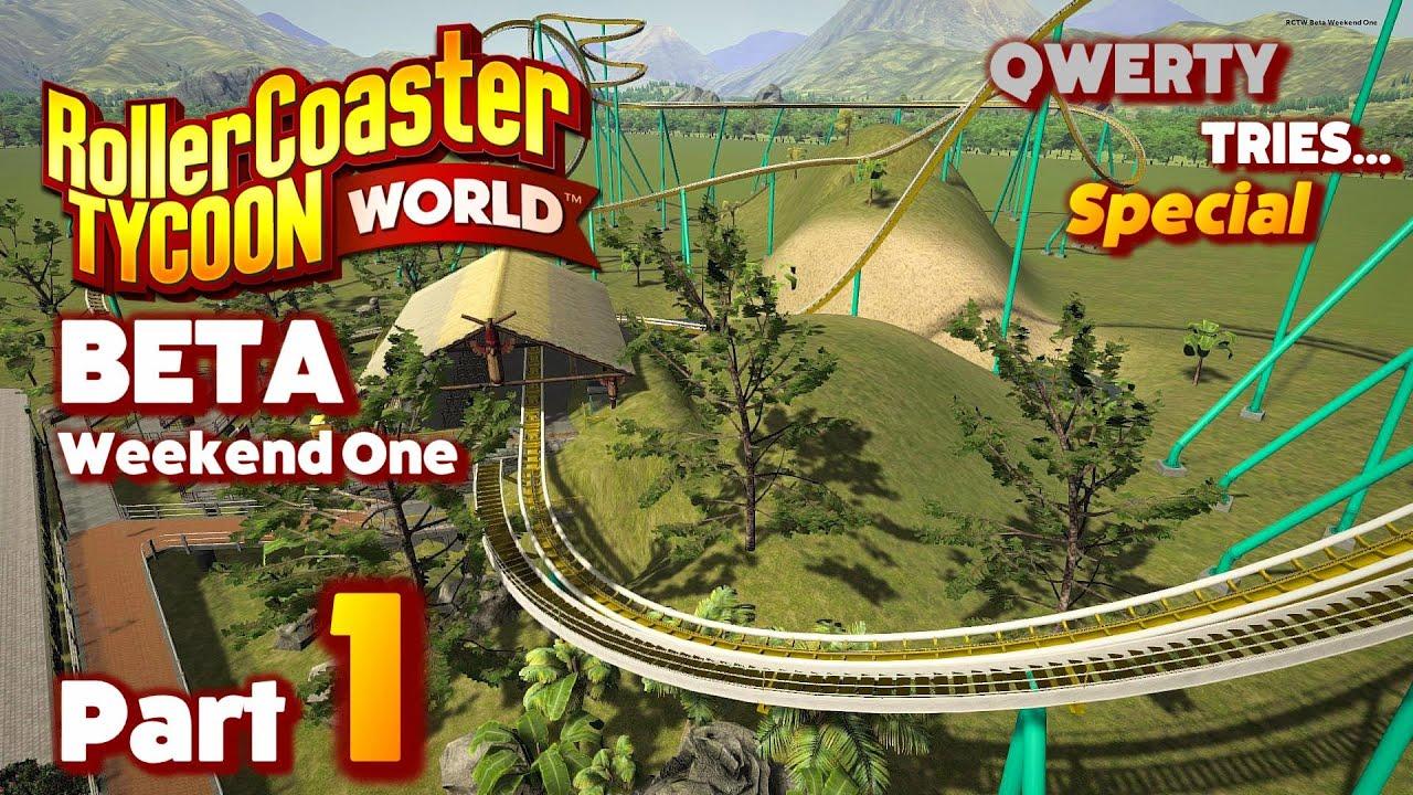 Rollercoaster Tycoon World Beta
