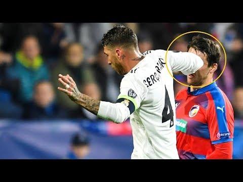 Los detalles del codazo de Sergio Ramos a Milan Havel