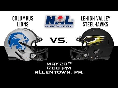 Columbus Lions vs Lehigh Valley Steelhawks