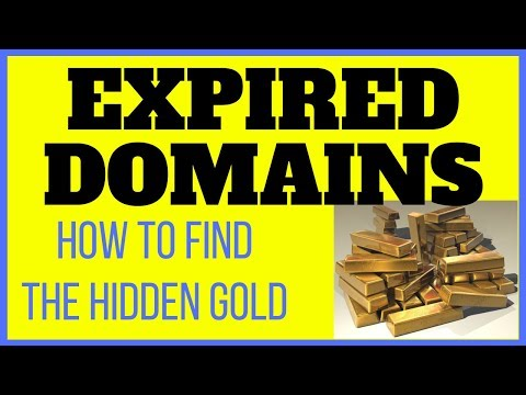 EXPIRED DOMAINS WITH TRAFFIC? - How To Find The Best Expired Domains for Maximum Ranking Power