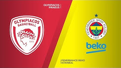 Olympiacos Piraeus - Fenerbahce Beko Istanbul Highlights | Turkish Airlines EuroLeague, RS Round 17