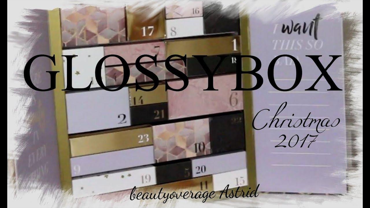 glossybox dezember 2018