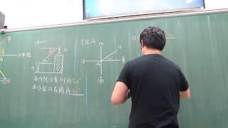 高二上第22堂(三角測量基本概念+平面型)(上)