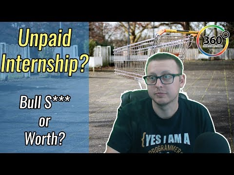 Unpaid Internships? Are they Worth It or Worthless? | Ask a Dev
