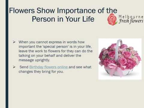 Send Birthday Flowers to Melbourne Through Melbourne Fresh Flowers