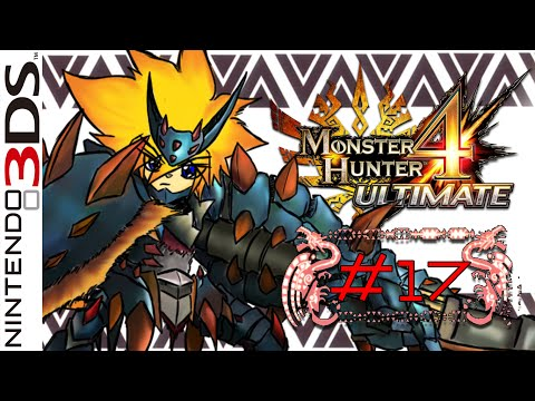 LZ : Monster Hunter 4 Ultimate #17 [A Ghastly Gift] | Online [Fail!!]