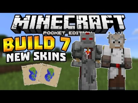 MINECRAFT PE 0.14.0 BUILD 7!!! - More Skins & Last Build? - Minecraft PE (Pocket Edition)