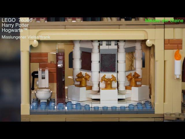 Meister der Steine, Hogwarts™: Misslungener Vielsafttrank, Lego 76386