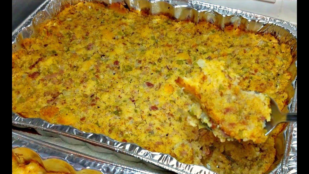 Cornbread Dressing Recipe  How to Make Cornbread Dressing  Cornbread  Stuffing Recipe