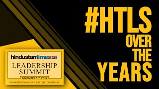 Watch: Hindustan Times Leadership Summit over the years
