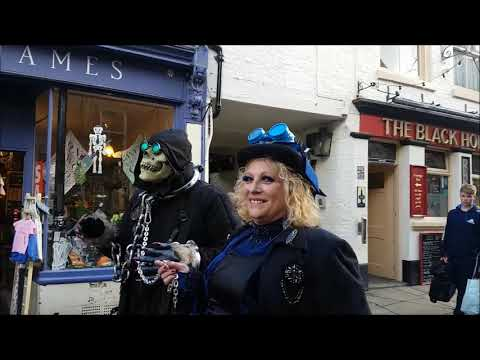 Whitby Goth Weekend October 2018