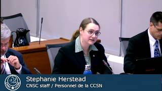 CNSC staff presented an update on small modular reactors