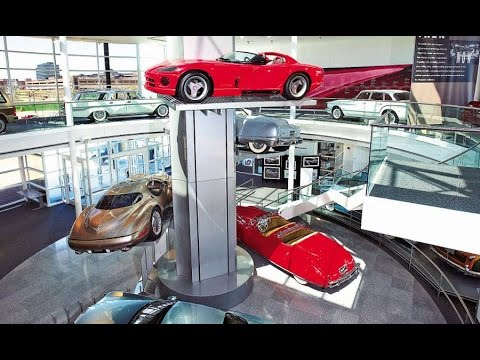 Walter P. Chrysler Automotive Museum - Over 65 antique, custom and concept vehicles