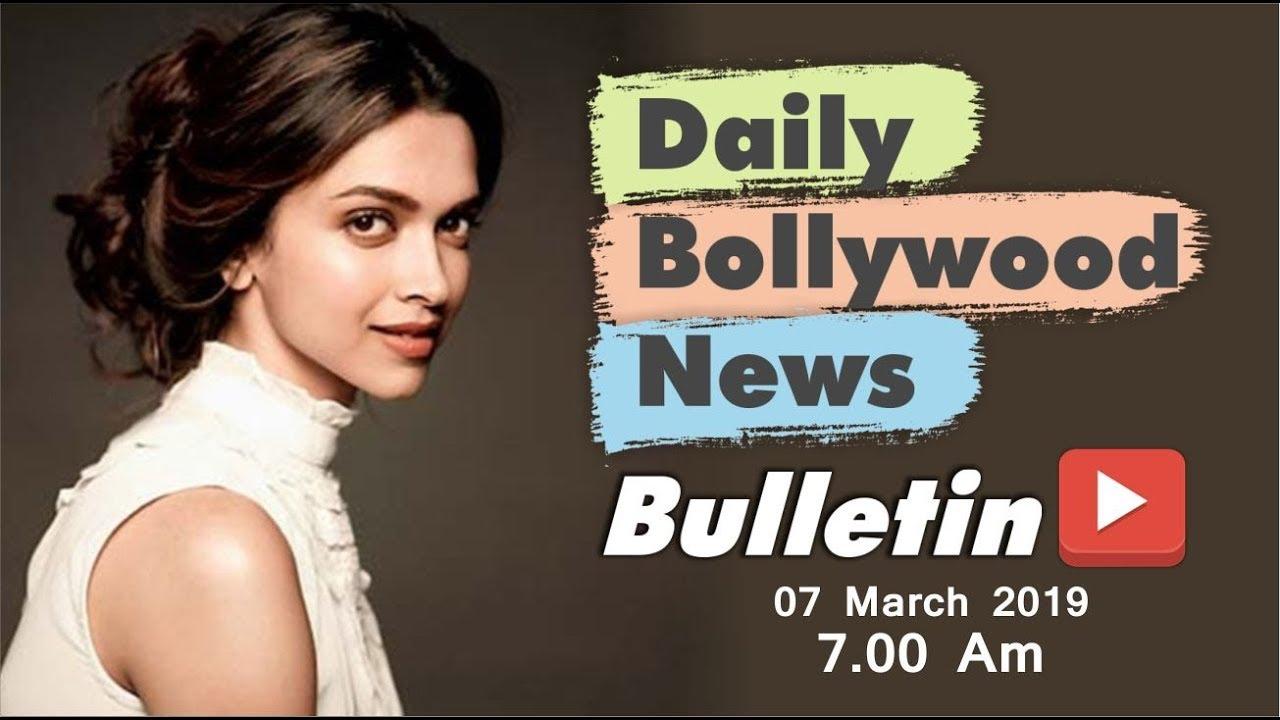 Latest Hindi Entertainment News From Bollywood   Deepika Padukone   07 March 2019   07:00 AM