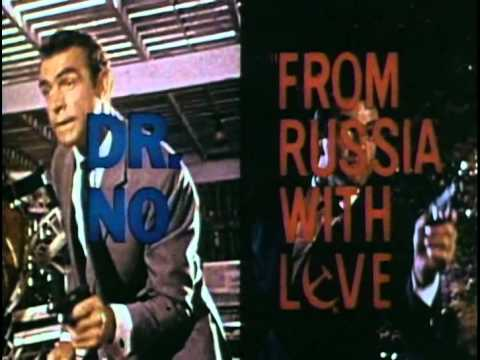 (1963) Dr. No - From Russia With Love double bill trailer