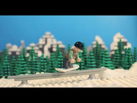 Video Lego Snowboarding