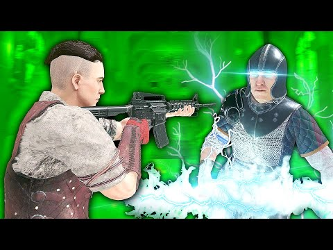 TAKING ON ZEUS IN VIRTUAL REALITY - Blade and Sorcery VR Mods (U8 Gameplay) |