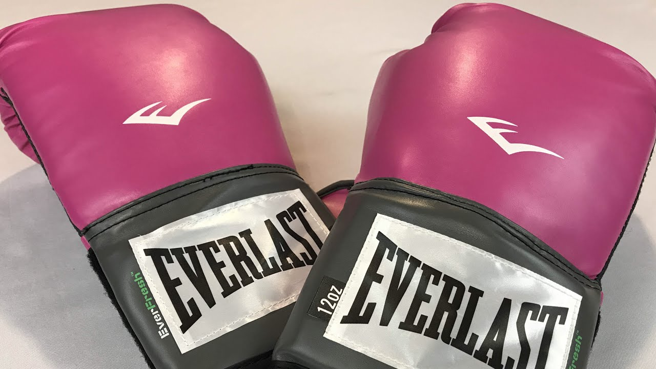 Everlast Women s Pro Style 12oz Pink Training Gloves review - YouTube 7ae669e89e