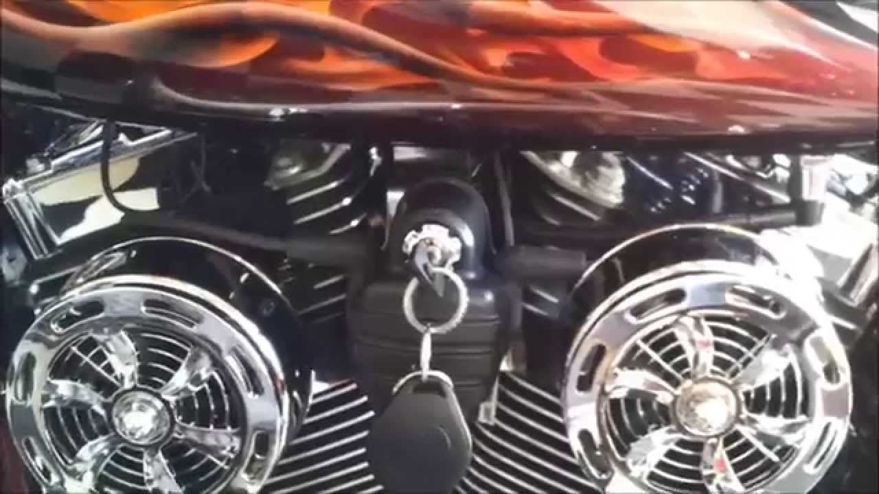 Love Jugs Motorcycle Cooling Fans On A Harley Davidson
