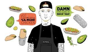 Machine Gun Kelly Talks Making Guacamole, Rolling Burritos at Chipotle