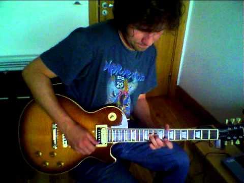Blues Jam- Gibson Les Paul/Seymour Duncan sh4 Jeff Beck - YouTube