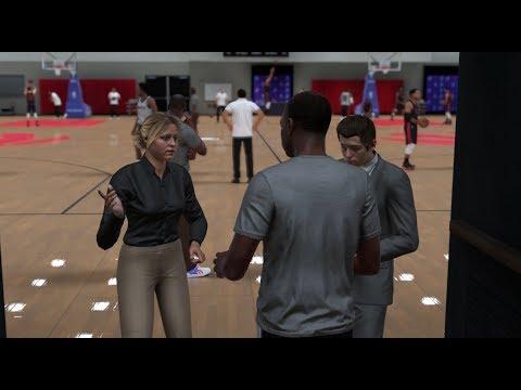 NBA 2K18 FULL MYCAREER STORY - PLAYMAKING SHARPSHOOTER