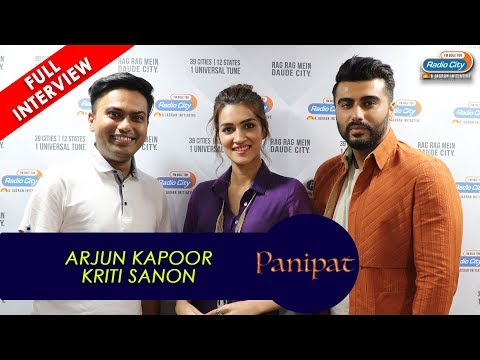 Arjun Kapoor: We knew comparisons were going to happen | Panipat | Kriti Sanon Mp3