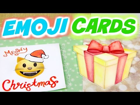 DIY-EMOJI-CHRISTMAS-CARDS-Holiday-Greeting-Card-Designs-How-To-SoCraftastic